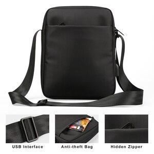 Image 4 - Kingsons сумка через плечо известного бренда Повседневная деловая сумка мессенджер винтажная сумка через плечо мужские сумки через плечо