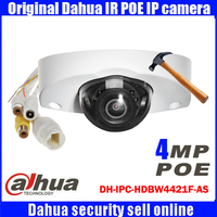 Dahua Original DHI IPC HDBW4421F AS HD 4MP Audio Security Camera Night Vision Infrared Network Camera