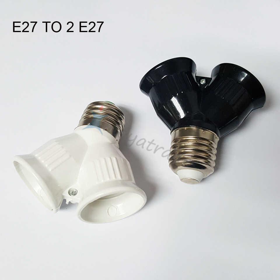 LINYEE Lamp Holders Converter ABS Fireproof Material E27 E14 GU10 G9 B22 E12 Socket Adapter Plug For LED Spot Light Corn Bulb