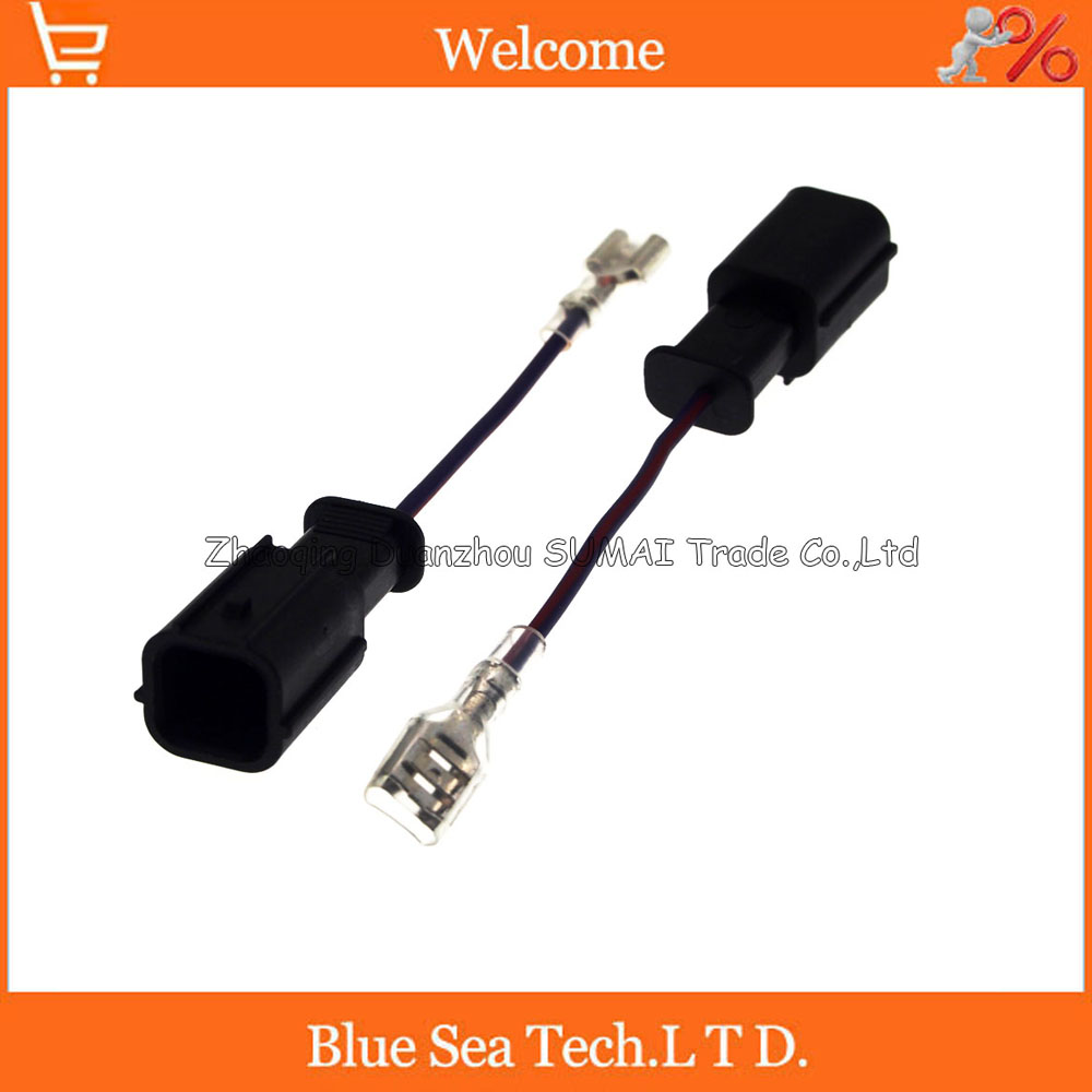 1Pin horn adapter,Auto speaker connector,horn plug,Car electrical modified for Honda,Fit, accord, civic,CRV etc. modified motorcycle accessories refires horn trolley belt oil pump cnc general horn refires