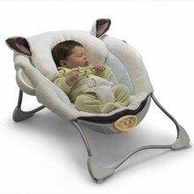 Мягкий комбинезон-Пижама для младенцев Детские Качели электрическая колыбель кресло-качалка Вибрация с музыкой