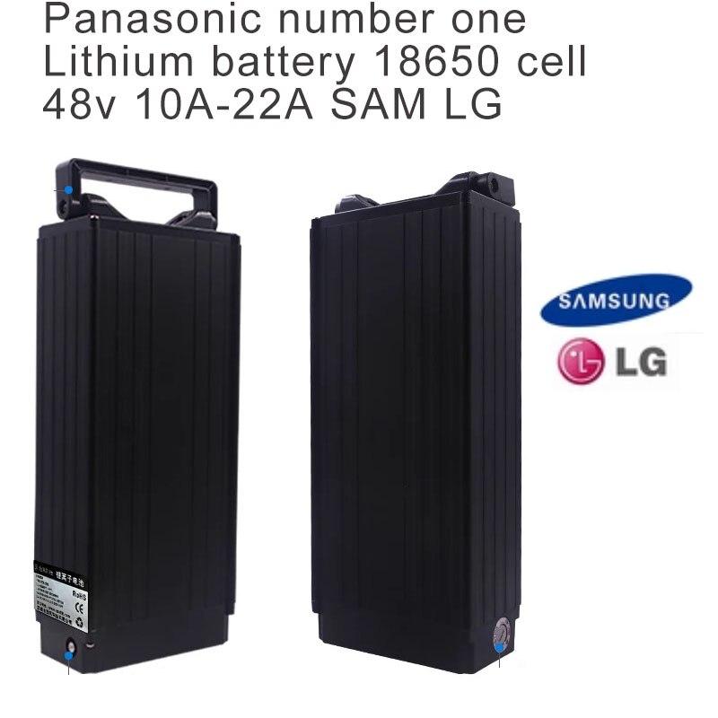 Batterie au Lithium 48 v pour vélo électrique avec chargeur pour Scooter 48 v 20ah Bateria 48 v avec batterie Panasonic Cell Ebike sans taxe
