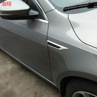 Side Wing Badge Emblem Fender Stickers For Skoda Octavia5ED 853432 431 Superb 3VD853 432 431