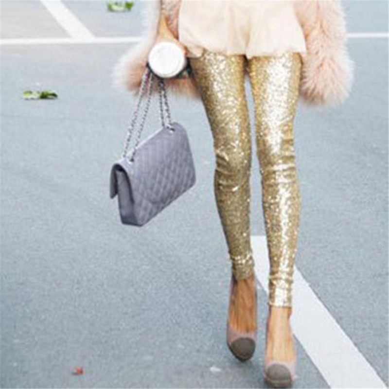 Compare Prices on Sequin Leggings Women- Online Shopping/Buy Low ...