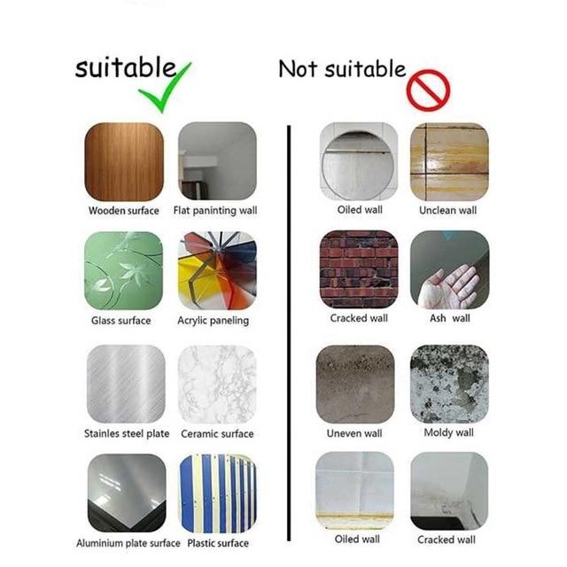 виниловая 3d наклейка vividtiles с 6 листьями для украшения фотография