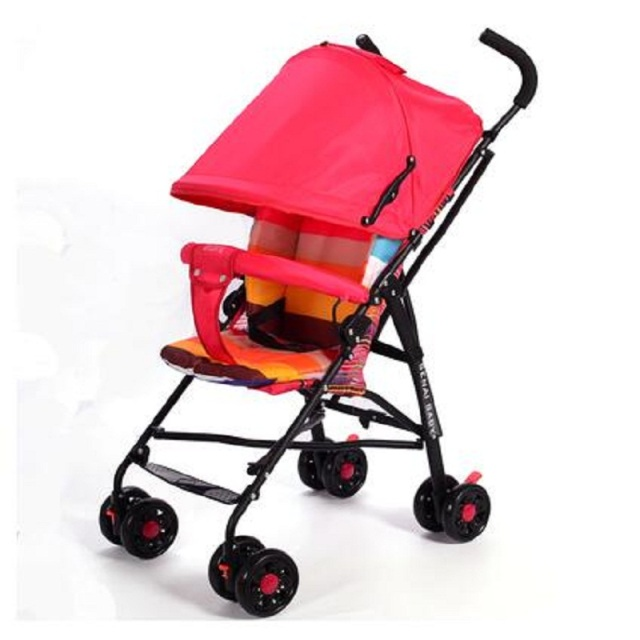 Baby stroller baby bb portable ultra-light child trolley suspension folding umbrella car  Can only sit