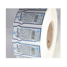 Etiqueta adesiva etiqueta personalizada, etiqueta de papel adesivo personalizado perfume garrafa espelho labelsperfume kote