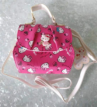 New Women Girl Hello kitty Bags Messenger Bag Shoulder Bag handbag purse yey-288HP