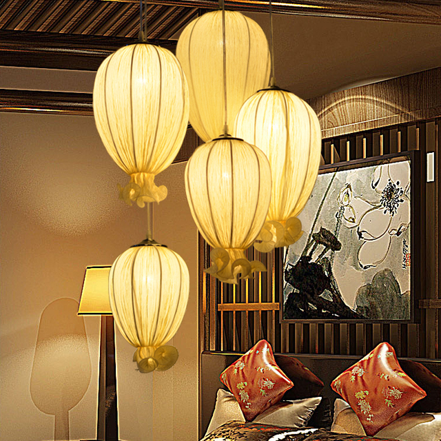 Combination Pendant Lights Tea Houses Living Rooms Revolving Stairs Aisles  Clubs Bars Hotels Lobby Pendant Lamps