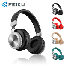 FEIKU YW-691 Bluetooth Headset Wireless Stereo Card Motion Folding Line Control Mobile Phone headset