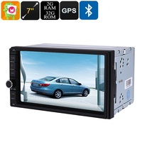 2 DIN Car Media Player 7 Inch Display Bluetooth WiFi 3G Octa Core 2GB RAM GPS