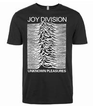 2017 Summer Style Joy Division Men Unknown Pleasure T Shirt Men's Casual Short Sleeve O-Neck T-Shirt Hip Hop Streetwear