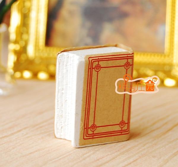 MINI dollhouse miniature Lovely dictionary book block mini furniture accessories for model
