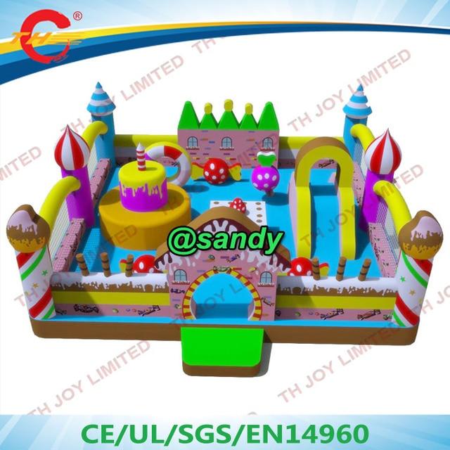 Free Air Shipinflatable Moonwalk Bouncer Funcity Amusement Park