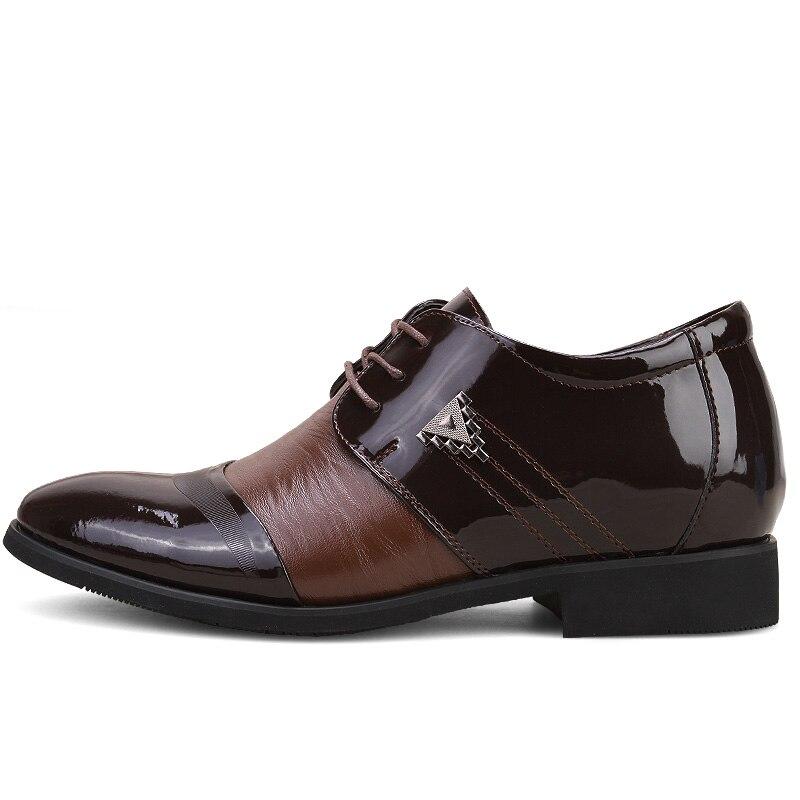 Hommes Hombre Dwayne Cuir Mens Lacent Véritable Robe Bout De Pour Mariage Pointu Zapatos En marron Noir Chaussures Formelles qHHx4OwRI