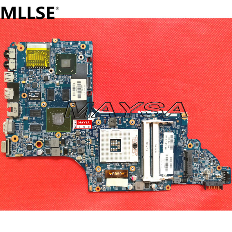 все цены на 682170-501 laptop motherboard 682170-001 fit for HP Pavilion DV6 DV6-7000 630M/2G Notebook PC systemboard 100% Tested онлайн