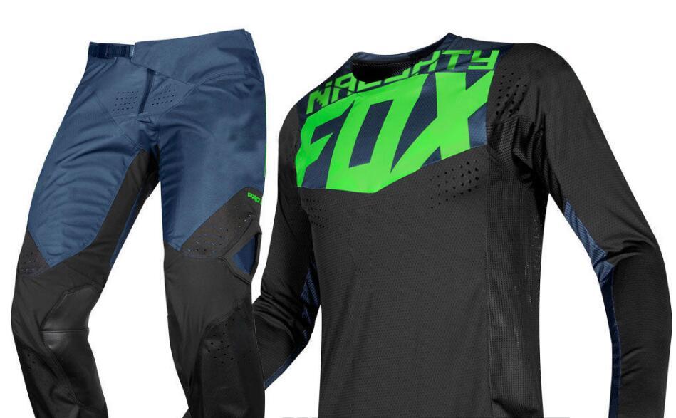 Nouveau 2019 vilain FOX MX Gear 360 Pro Circuit Monst course Jersey pantalon Motocross Gear Set Combo ATV Dirt Bike hors route