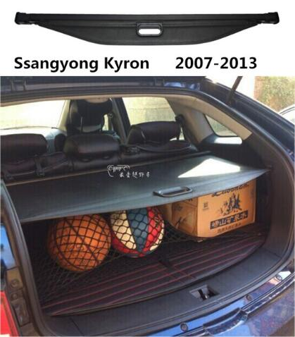 High Qualit Car Rear Trunk Cargo Cover Security Shield Screen Shade Fit For Ssangyong Kyron 2007-2013 BY EMS