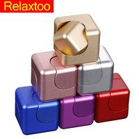 Figet Spinner Deform Fidget Cube Gyro Squeeze Meatl Hand Toys Relief Anxiety Anti Stress For Adults