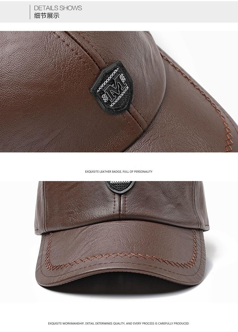 Su persona tiene que asegurarse de que antes de sobornar un Xthree nuevo  cuero del invierno gorra de béisbol snap back hat para hombres ocasionales  gorra de ... cb3ca2b48e9