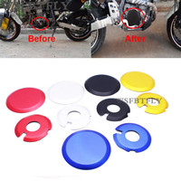 5 Colors Engine Ignition Clutch Case Covers Guards Engine Cover Kit For Kawasaki KLX 400 Suzuki