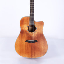 New Guitar Spruce Plywood Hand-polished Retro Guitar 41-inch Exercise Wood Guitar Wholesale(China)
