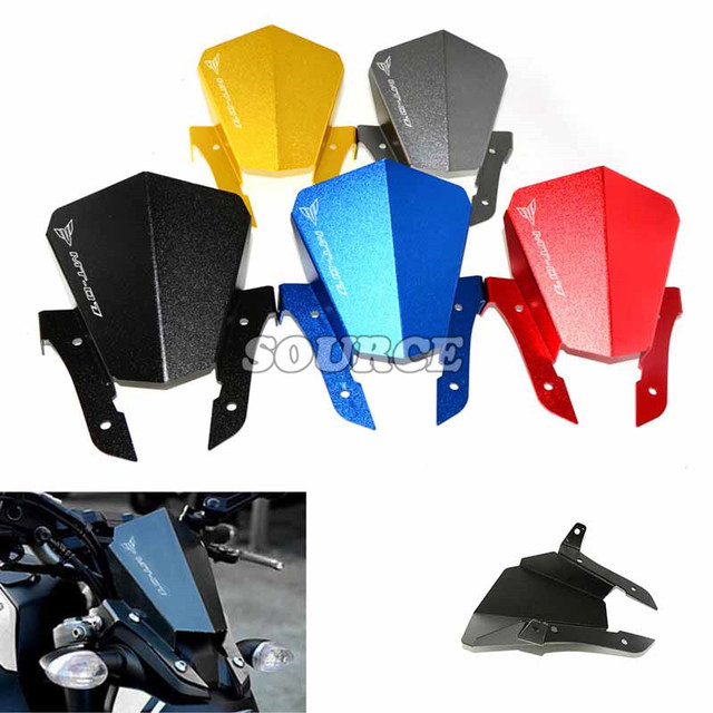 new CNC motorcycle accessories Windshield Windscreens  Wind Deflectors  For YAMAHA MT-07 MT07 MT 07 2013 2014 2015