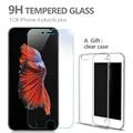 Anti azul 9 h templado protector de pantalla de cristal para iphone 6 plus 5.5 pulgadas de cristal película de vidrio película protectora para iphone 6 plus + 1 caja