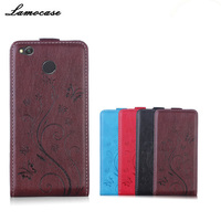 Lamocase Phone Case For Xiaomi Redmi 4X Case Hongmi 4X 4 X Coque Flip Leather Cover