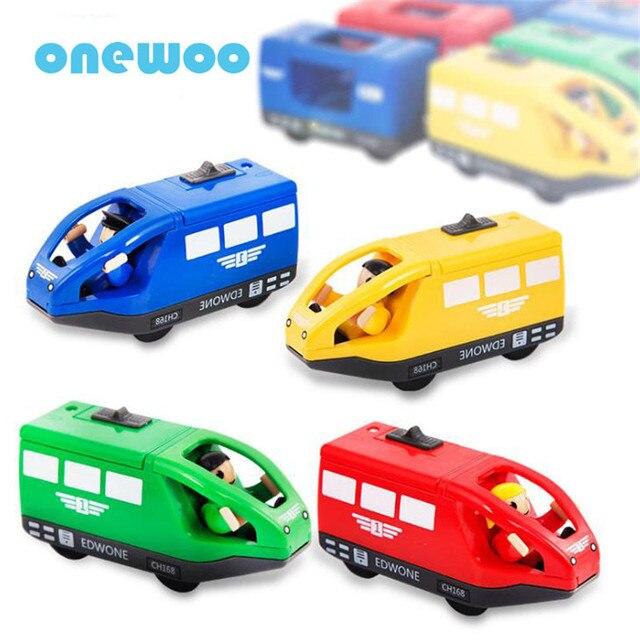 Modelo Juguetes Del Madera Coches Niños Pvc Magnética Juguete Vagón Eléctrica De Plástico Locomotora Vías Tren eWEHIYD29