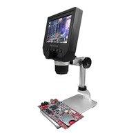 Elektronik Dijital Mikroskop Ayarlanabilir Metal Standı ile G600 Taşınabilir 1-600X Sürekli Büyütme 4.3