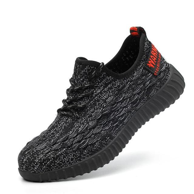 Erkekler Çelik burunlu güvenlik ayakkabıları Geçirmez iş çizmeleri Adam Nefes Ayakkabı Rahat Anti-smashing Anti-piercing Yıkılmaz Ayakkabı