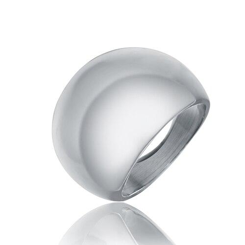 Soonory bandas de boda anillo de moda hecho de metal en color gris para hombre y mujeres de belleza y joyas