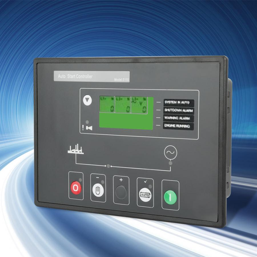 DSE5110 Diesel Generator Set auto start Controller Electronic Module Control Panel With LCD Display