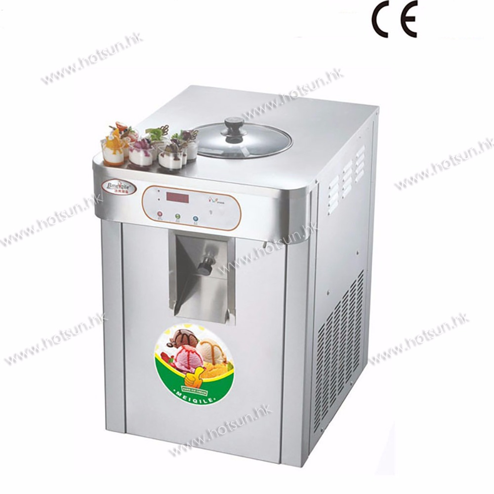 L stainless steel countertop v electric hard ice