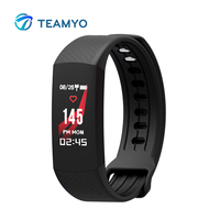 Teamyo Fitness Bracelet Smart Watch Heart Rate Monitor Professional Waterproof Fiteness And Sleep Tracker For Android