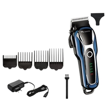 цена на SURKER Barber Cordless Hair Clipper Professional Trimmer Men Child Hair Cutter Electric Hair Cutting Machine Haircut Adjustabl