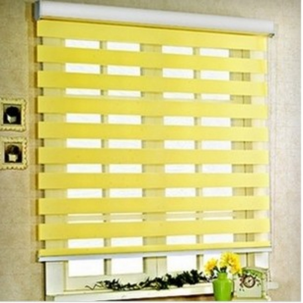 popular zebra layer roller blindsready made fabric curtain window curtainin curtains from home u0026 garden on