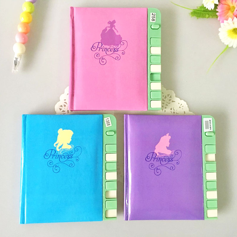 2017 Cute Password Lock Paper Notebook Diary Note Book Planner Schedule Journal Agenda Stationery diary 2017 13 18 cm blank plain notepad notebook diary fleshiness plant printing note book agenda journal planner stationery