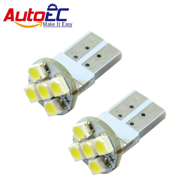 autoec 10x parkeer lights led automatische verlichting t10 5 168 194 w5w led smd3528 gloeilampen 12
