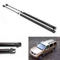2pcs Auto Rear Window Gas Struts Shock Struts Spring Lift Supports For Nissan Pathfinder R51 2005