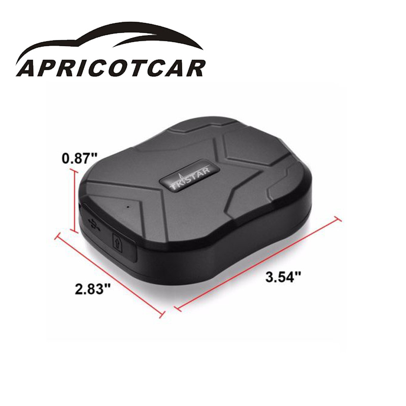 Car GPS Locator Free Installation of Magnetic Adsorption Portable GPS Locator Dual Mode Positioning with Waterproof Bag Durable