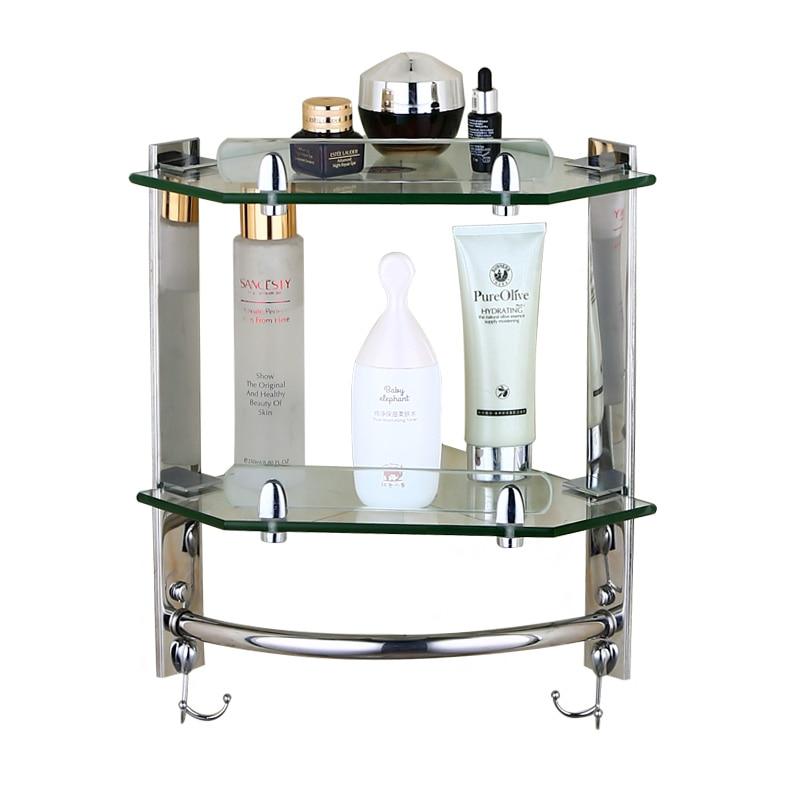 European bathroom glass shelf ,wall mounted shelf ,stainless steel toilet tripod corner frame,bathroom accessories products стоимость