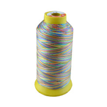 500D/3 high tenacity polyester sewing thread colors 7# embroidery ,Free shipping.