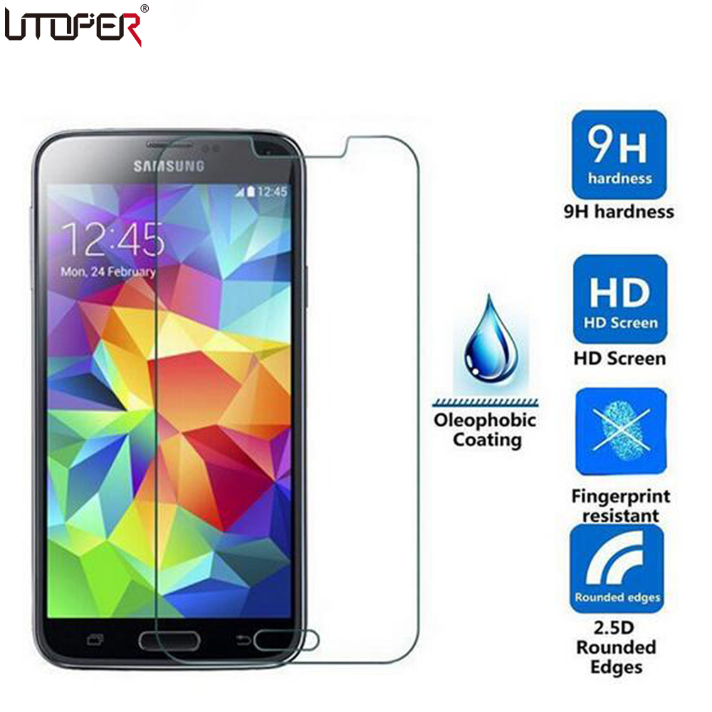 Tempered Glass For Samsung Galaxy C5 C7 2016 J1 mini J5 J3 Pro A3 A5 Note 7 S4 S5 Phone Screen Toughened Protective Film Guard