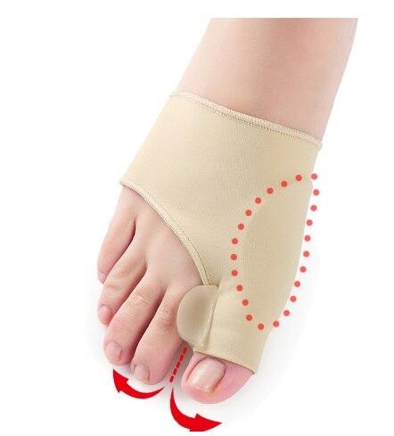 2x Little Toe Valgus Corrector Separators Straighteners Comfort Pain Relief