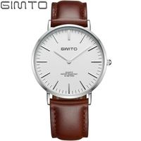 High Quality Original GIMTO Men Watch Top Brand Luxury Tag Watch Men S Simple Waterproof Stainless