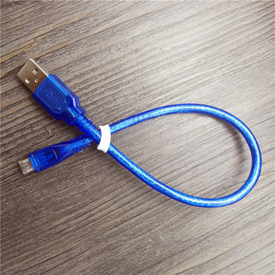 30cm USB 2 0 A Male to Micro USB 5 pin Male Data Charge Cable Cord in USB Cables from Consumer Electronics
