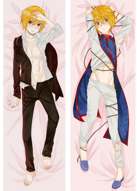 Dakimakura Hunter X Hunter Anime Killua Kurapika Hugging Body Classy Cheap Body Pillow Covers
