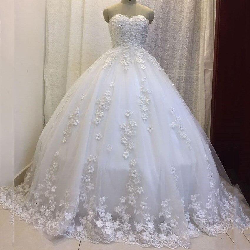 White Wedding Dress Meaning Dream : Prettiest floral white bridal wedding dresses dream dress